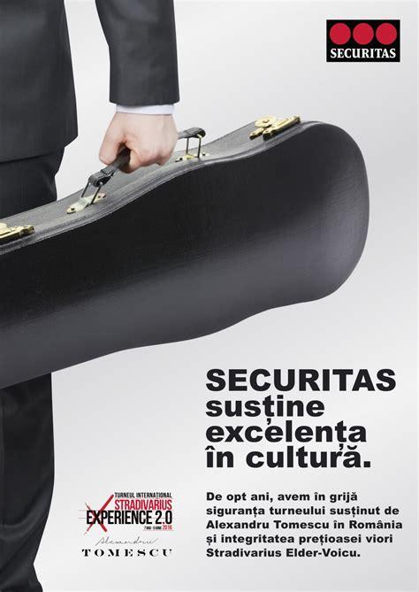 securitas si鑒e social the syndicate si securitas o colaborare armonioasa pentru turneul international stradivarius experience 2 0
