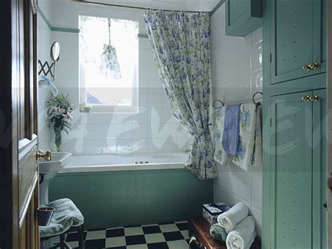 Bath Panel Cupboard by Image Turquoise Painted Cupboard And Bath Panel In White
