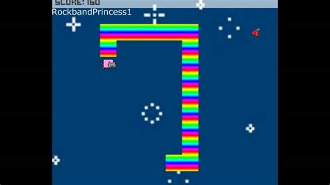 Nyan Cat Online Games Nyan Cat Snake Game Youtube
