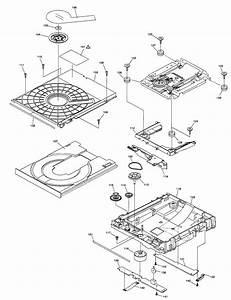 Dvd Mechanism Diagram  U0026 Parts List For Model Dmpbd85p