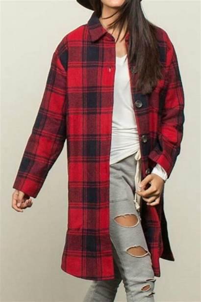 Plaid Jacket Clothing Pol Jackets Coats Shoptiques