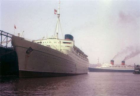 RMS CARONIA U2013 Cunard Lineu2019s Famed Cruise Ship During The 1950s. Promotional Film On The Shipu2019s ...