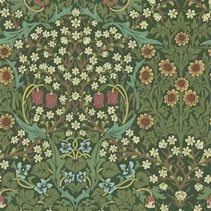 Morris Co : blackthorn wallpaper green 210409 william morris co compendium ii wallpapers collection ~ Watch28wear.com Haus und Dekorationen