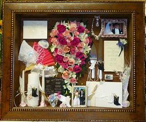 1000 images about preserved wedding bouquet in shadow box With framed wedding invitation dried flowers
