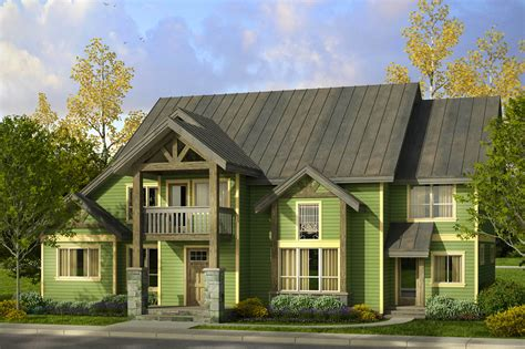 lodge style house plans riverbank    designs