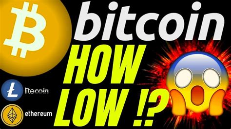 WARNING: HOW LOW CAN BITCOIN LITECOIN and ETHEREUM GO ...