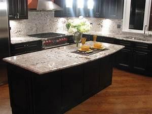 Beautiful dark cabinets light countertops design ideas