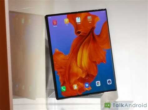forget  galaxy fold huaweis  foldable smartphone
