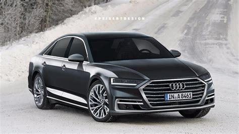 New Audi A8 Will Come Standard With 48 Volt Mild Hybrid Tech
