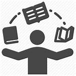 Icon Study Education Learning Librarian Knowledge Icons