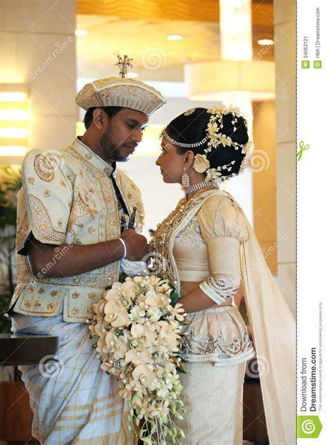 Bride And Groom In Sri Lanka Editorial Photo   Image: 34063121