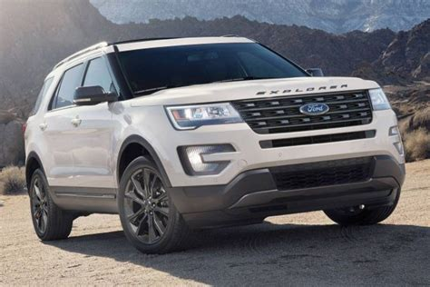 ford explorer price trims suv trend