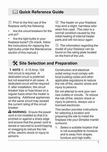 Quick Reference Guide  Site Selection And Preparation