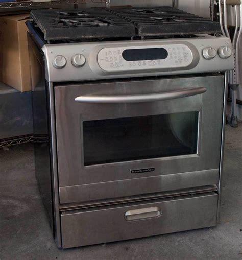 kitchenaid range kitchenaid gas range stove convection oven architect