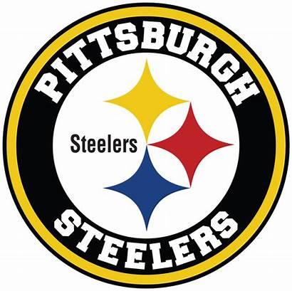 Steelers Pittsburgh Circle Decal Sticker Vinyl Nfl