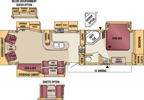 jayco designer 5th wheel floor plans 2007 jayco designer fifth wheel rvweb