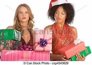 Frauen Geschenke Zu Weihnachten : stock fotografien von weihnachten geschenke unterscheidung zwischen zu frauen csp4343629 ~ Frokenaadalensverden.com Haus und Dekorationen