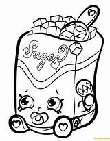 Shopkins Coloring Shopkin Sugar Lump Season Sweet Treats Drawing Crush Eazy Snow Chocolate Colouring Printable Ipad Sheets Cartoon Clipart Dolls sketch template