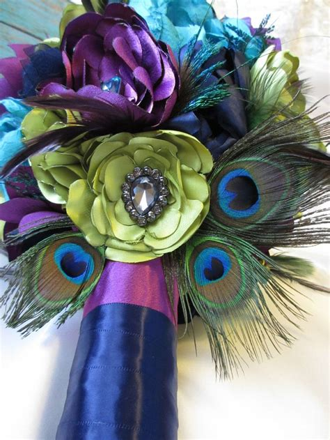 Best 25 Peacock Wedding Flowers Ideas On Pinterest