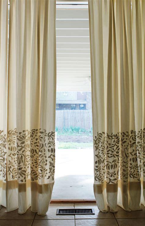 diy curtains diy thursday appliqu 201 curtains alabama chanin journal