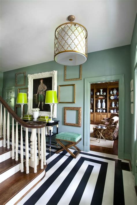 Wonderful Walls Atlanta Symphony Showhouse by Minty Interior Decors Showcasing A Soft Yet Vibrant Look
