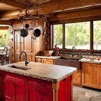 woman lake rustic kitchen minneapolis  michelle fries bede design llc