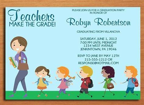 Teacher / Elementary Education Degree Graduation Party