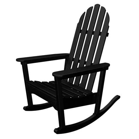 polywood adirondack rocking chairs polywood classic adirondack rocking chair adirondack