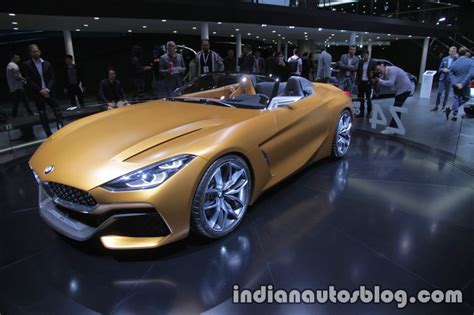 Bmw Concept Z4 Front Three Quarter View At Iaa 2017