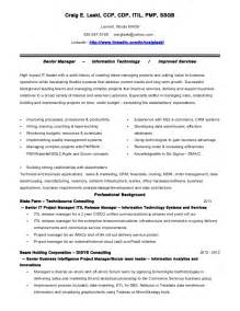 resume with certification logo sle craig e laski itil pmp ssgb resume