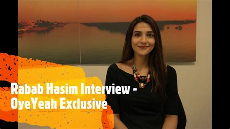 Rabab Hashim Interview - Oyeyeah Exclusive - YouTube