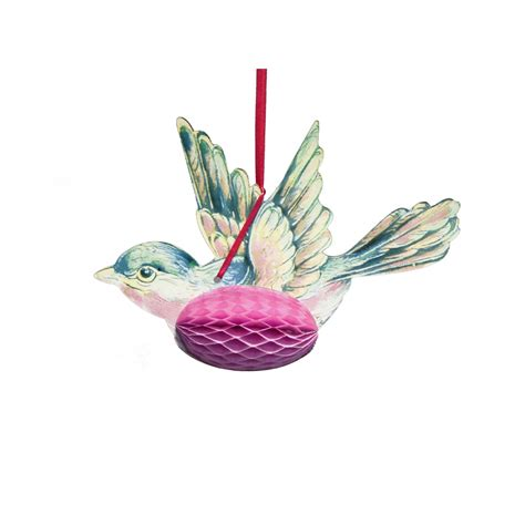 bird decoration talking tables paper honeycomb bird hanging decorations talking tables from mollie fred uk
