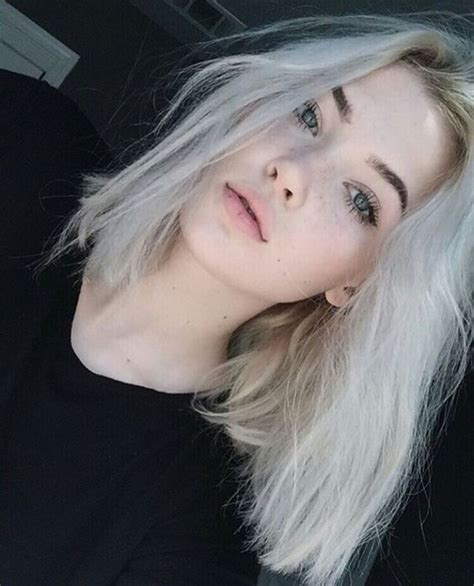 Hair White Skin by Best Hair Color For Green And Different Skin Tones
