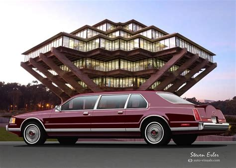 lincoln continental mark vii town brougham edition