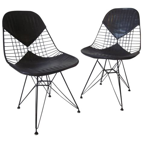 eames herman miller eiffel tower wire chairs at 1stdibs