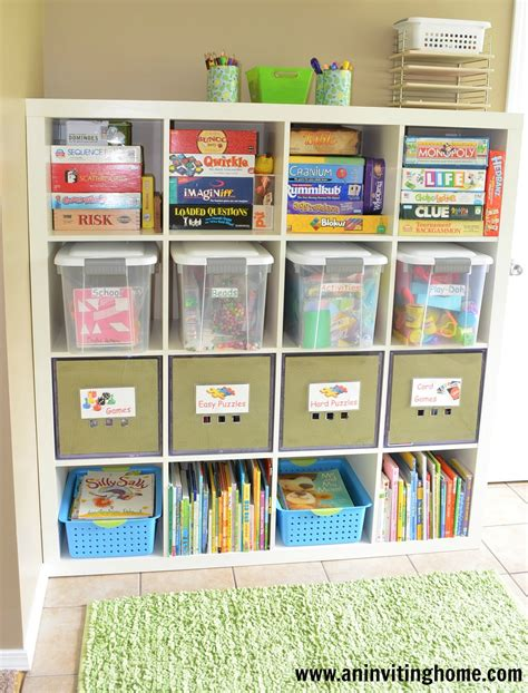 An Inviting Home 6 Tips To Organizing A Kids Craft Space