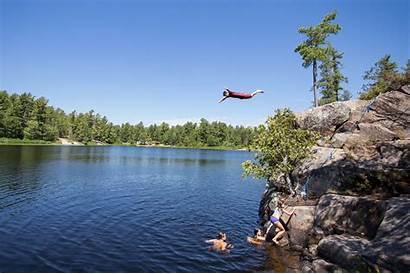 Grundy Restoule Provincial Lake Park Loring Cliff