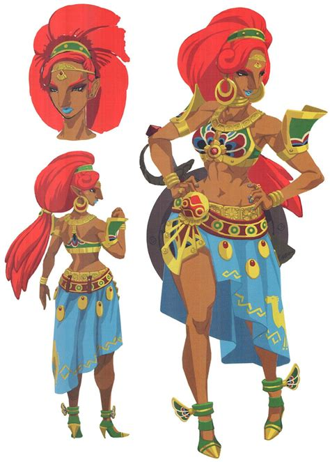 Urbosa Concept From The Legend Of Zelda Breath Of The