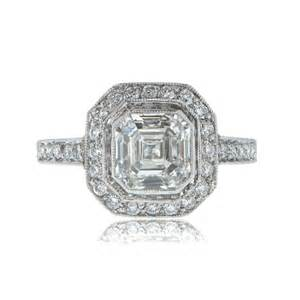 asscher cut engagement ring asscher cut engagement ring