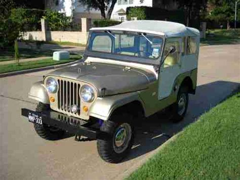 jeep kaiser cj5 sell used 1966 jeep kaiser cj5 original only 30000