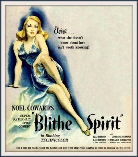 Blithe Spirit Noel Coward Constance Cummings 1945 By