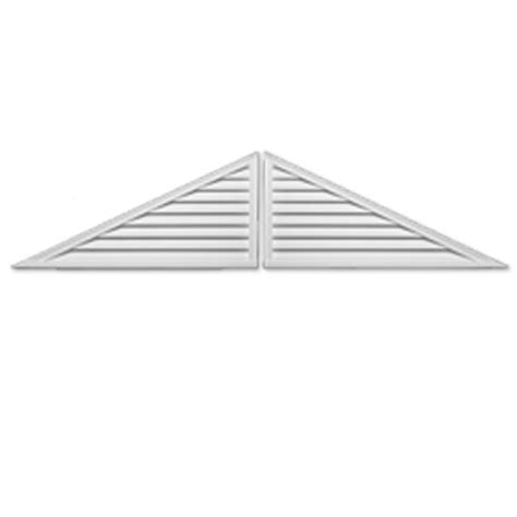 Decorative Gable Vents Canada by Fypon 60 Inch X 25 Inch X 2 Inch Two Polyurethane