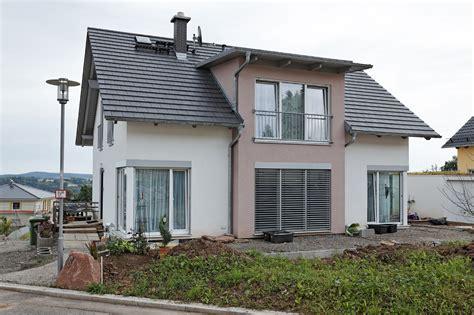 Haus Modern Satteldach Holz Einfamilienhaus Neubau Avec