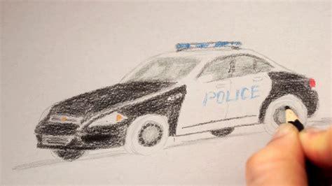 polizeiauto zeichnen lernen   draw  police car