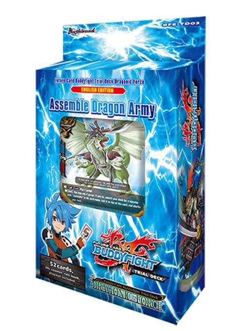 bfe td03 dragonic trial deck buddyfight 187 buddyfight trial decks collector s cache