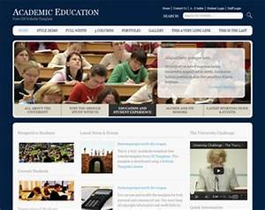 educational website template free website templates os With online education templates free download