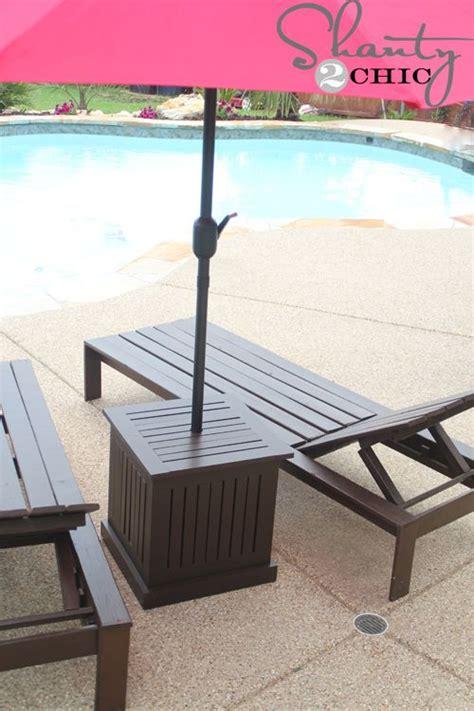 umbrella side table base diy outdoor umbrella stand and loungers outdoor umbrella