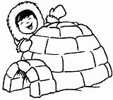 Coloring Igloo Sheets Sheet Pages Coloriage Ultimate Hiver Eskimo Colorier Polar Printable Animaux Polaires Dessin Visit Esquimaux Winter Preschool Deco sketch template