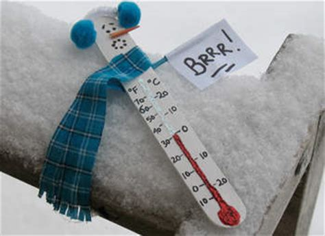 snowman thermometer fun family crafts