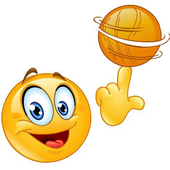 basketball smiley symbols emoticons